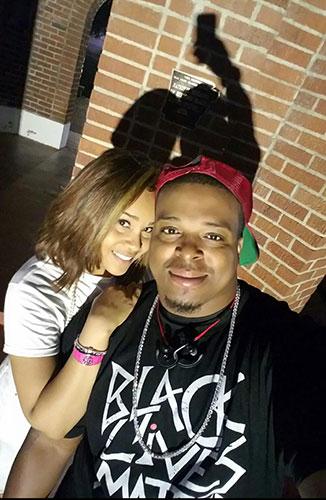 Charles Ali with fiancee Nickole