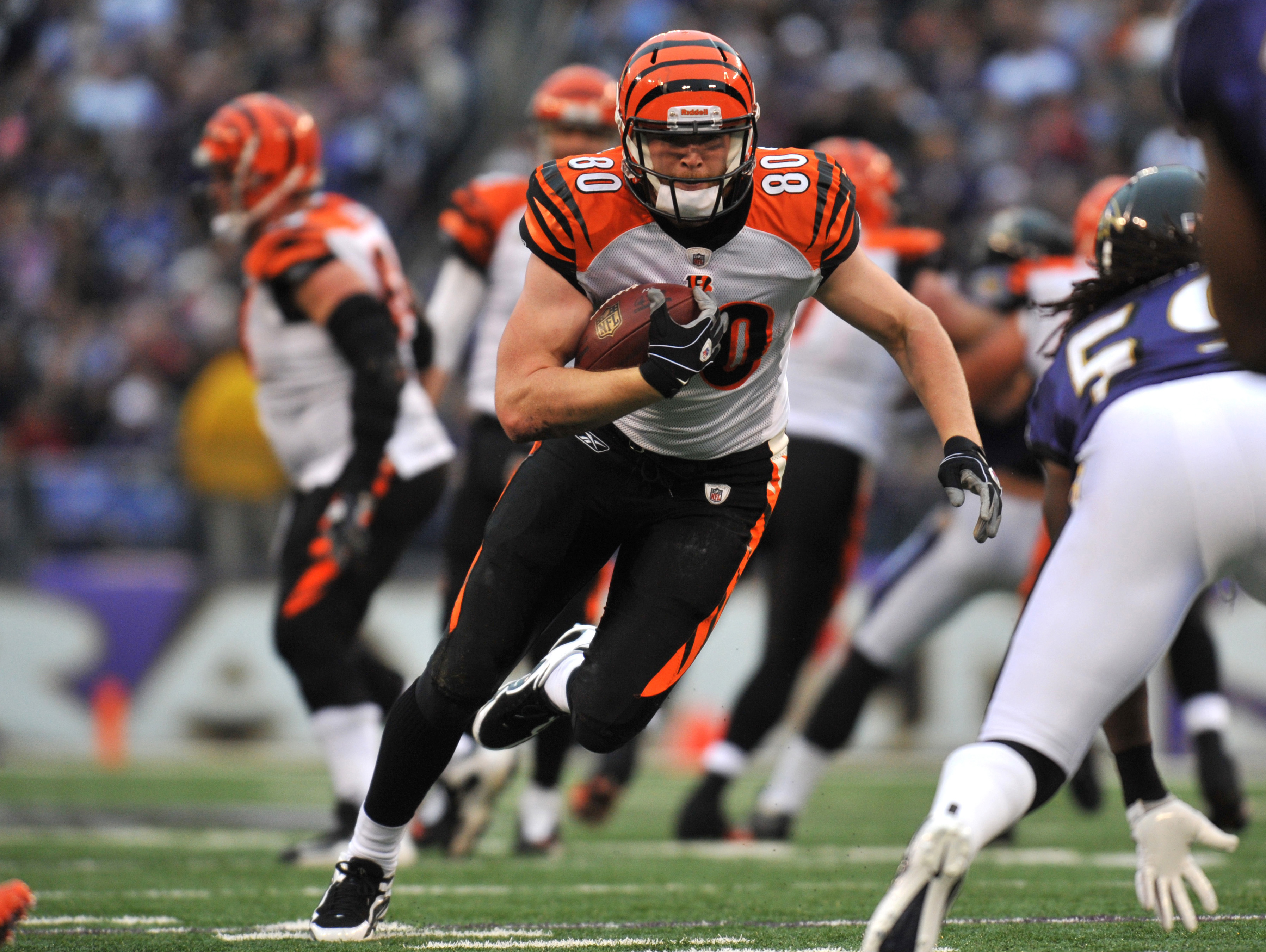 Chase Coffman with Bengals