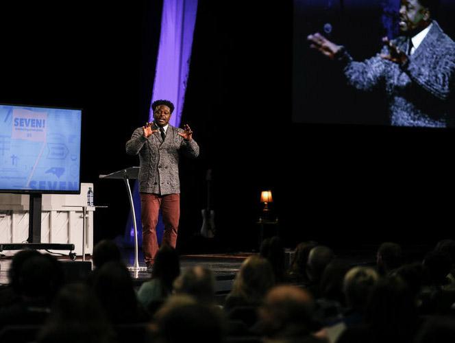 Derwin Gray preaching