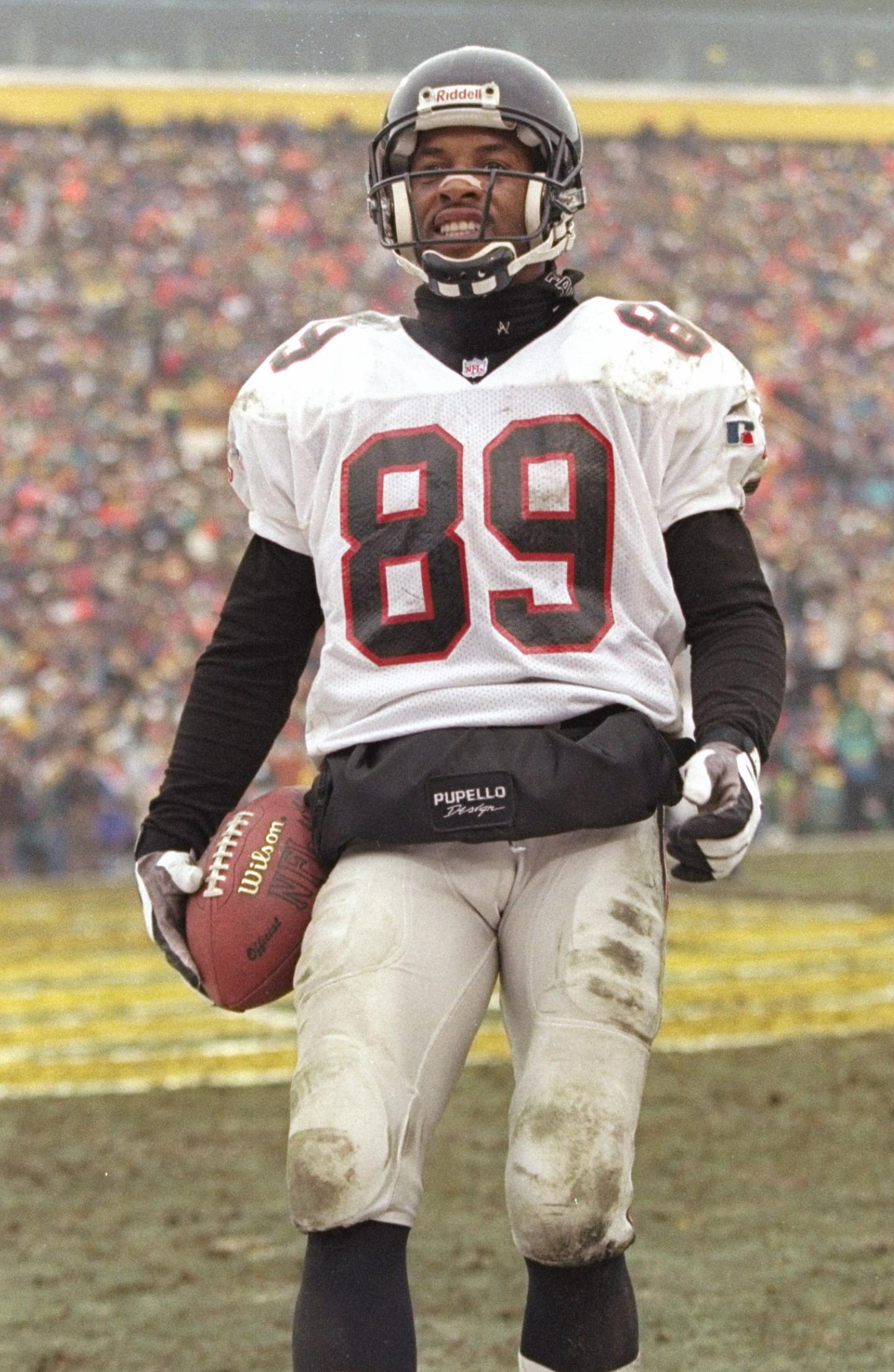 JJ Birden playing football