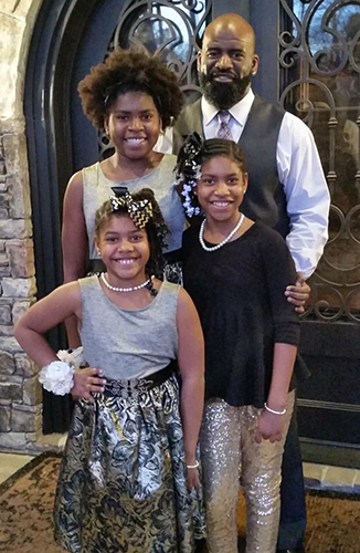 Kendall Simmons' daughters