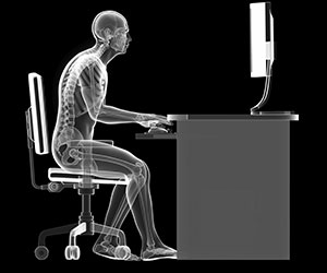bad sitting posture desk