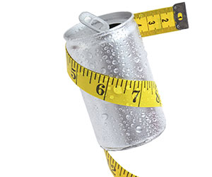 diet soda can