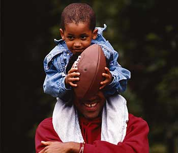 Being an athlete can make you a better father